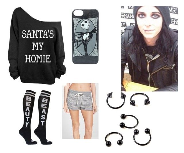 """""""Christmas morning with Ricky horror"""" by ourchemicalhorizon on Polyvore"""