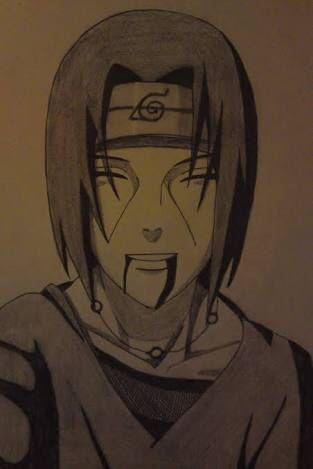 Itachi Sketch Tattoo Naruto Sketch Naruto Drawings Anime Drawings
