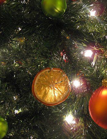 sinaasappel gedroogt