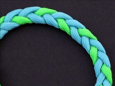 How To Make A 3 Strand Flat Braid Adjustable Bracelet By Tiat