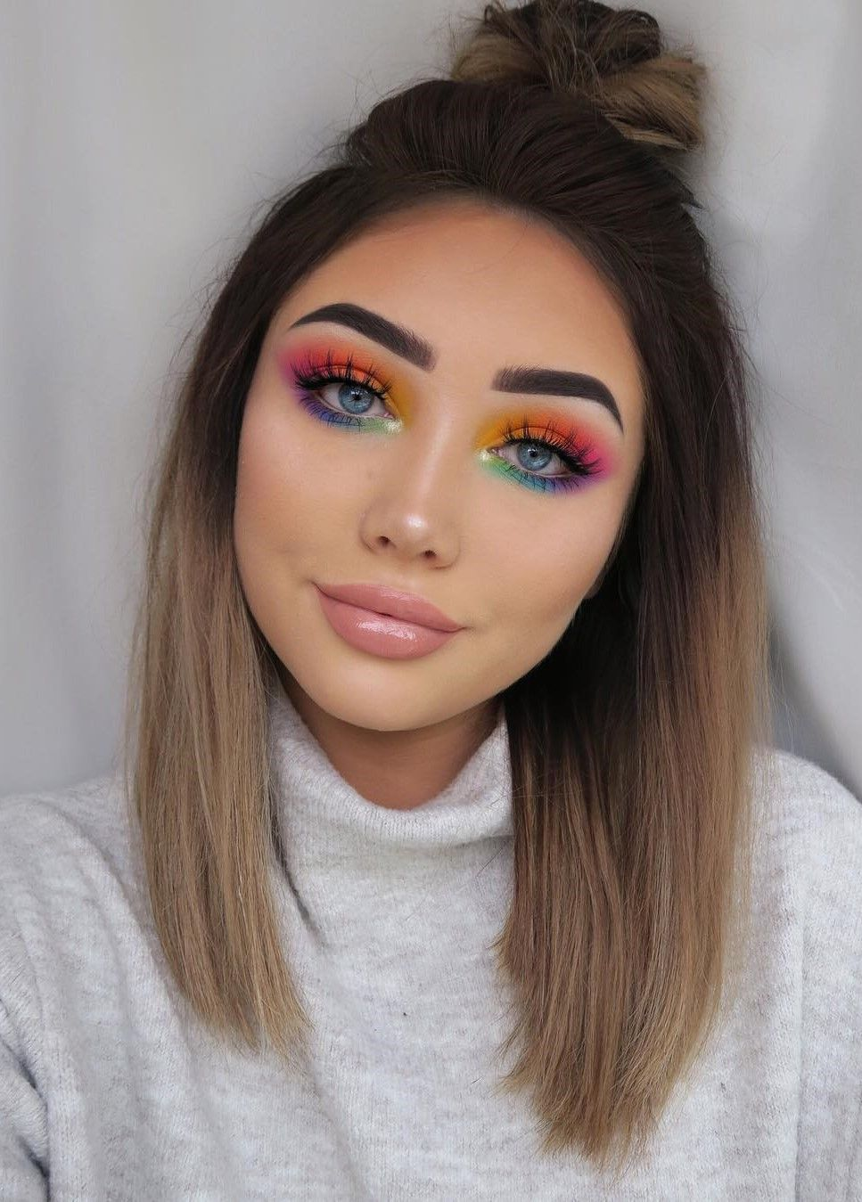 46 Amazing Makeup Looks to Try Colorful makeup, Best