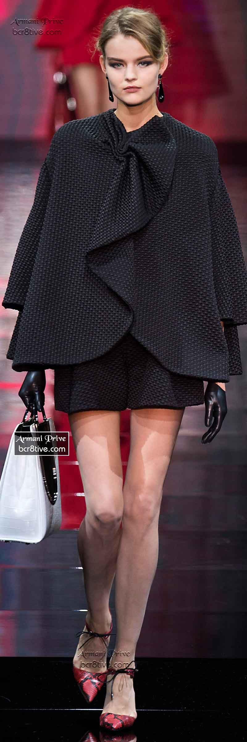 Armani Privé Haute Couture Fall Winter 2014-15 Collection ...