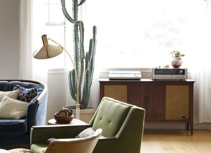 Interiors I Love // Indoor Cactus