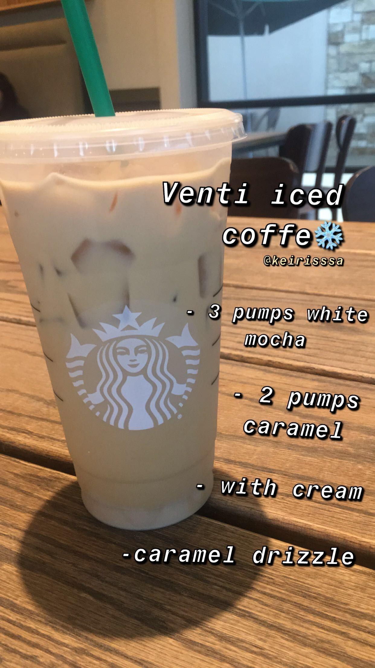 Starbucks Iced Coffeeeeee in 2020 Starbucks drinks