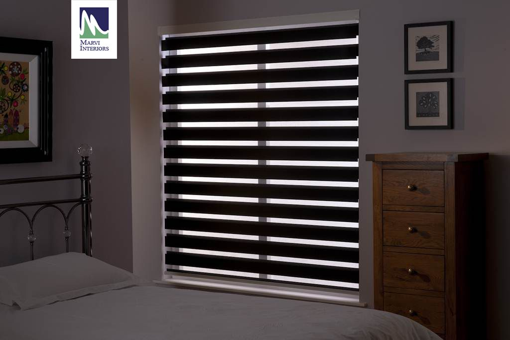 Roller Zebra Blinds Are The Latest In Light Filtering And Comes In