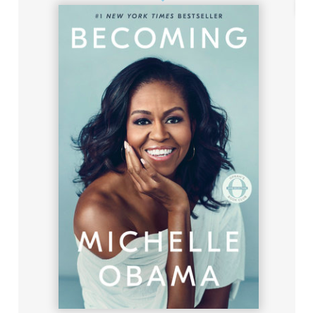 An intimate, powerful, and inspiring memoir by the former First Lady of the United States #1 NEW YORK TIMES BESTSELLER • OPRAH'S BOOK CLUB PICK • NAACP IMAGE AWARD WINNER Hardcover 448 Pages ISBN 9881524763138