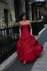 Robe de mariee rouge symbole