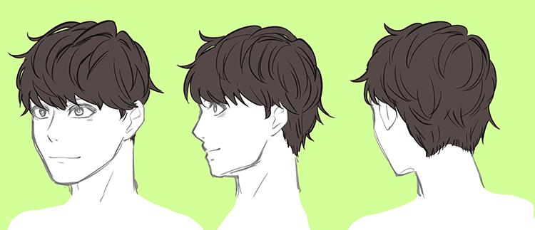 男性のリアルな髪型バリエーション 7選 Drawings Hard Drawings