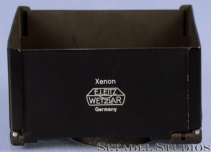 Leica Leitz Xioom Barn Door Lens Hood f/Xenon 50mm f1.5 Rare