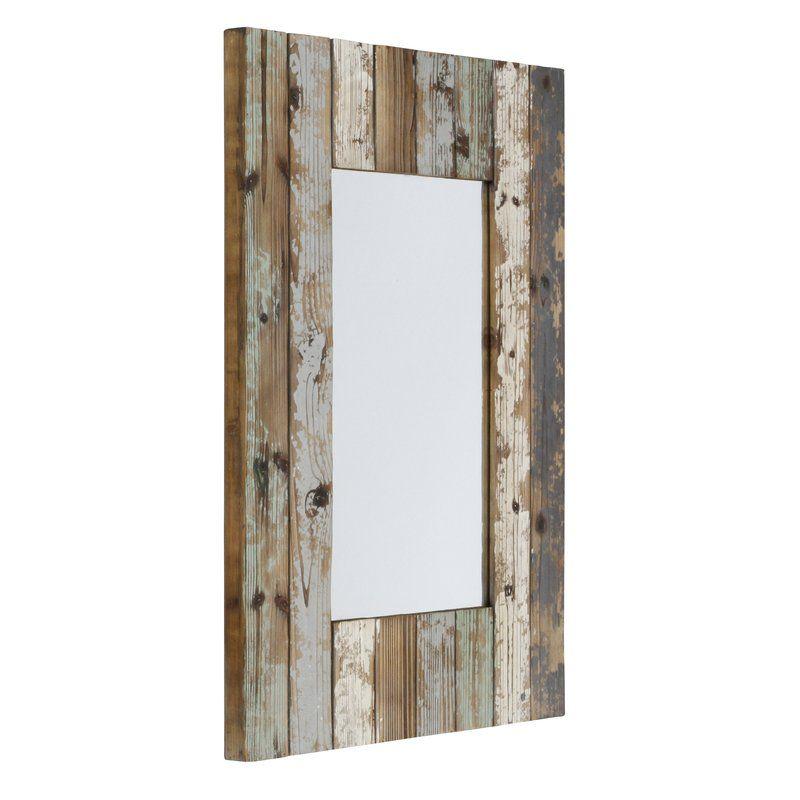 Pires Farmhouse Wall Mirror Farmhouse Wall Mirrors Mirror Wall Rustic Wall Mirrors