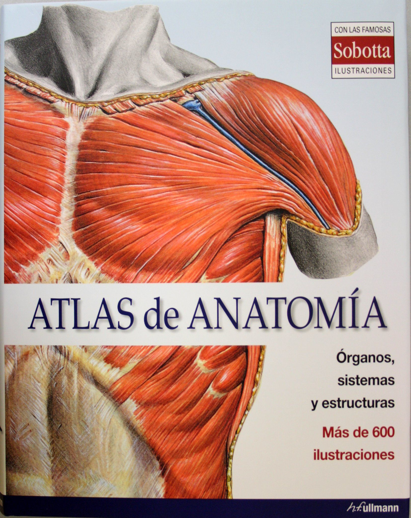 Atlas de anatomía. +info: http://www.ullmann-publishing.com/es ...