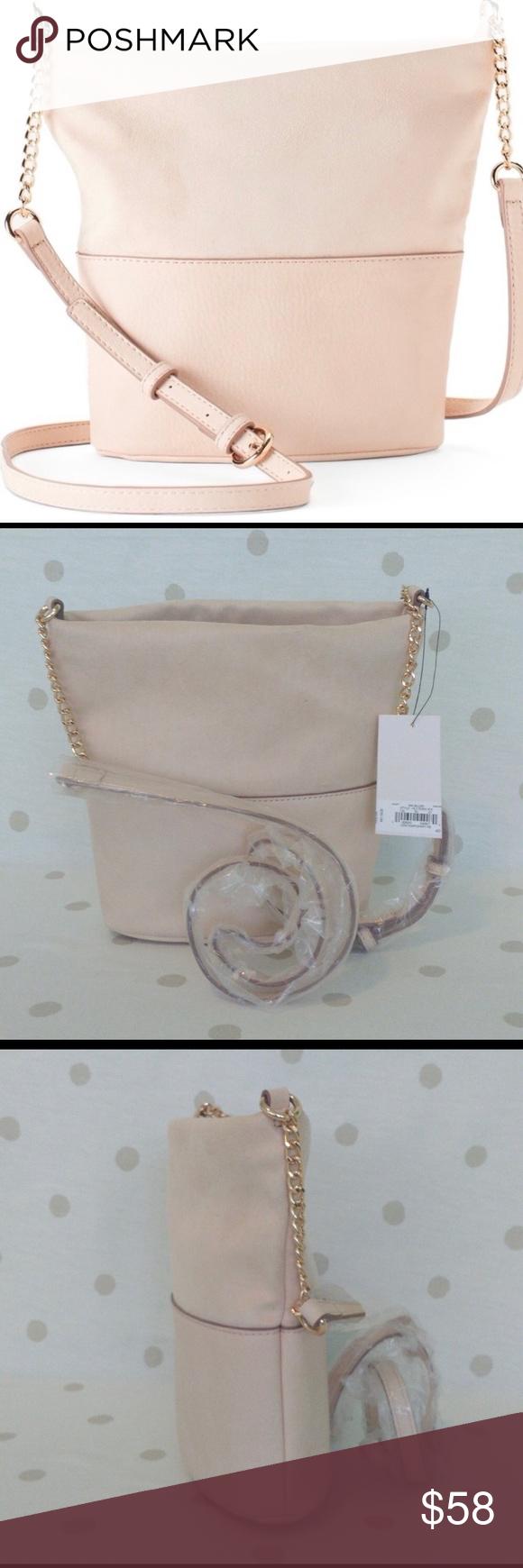 Laura conrad stunning soft crossbody bag blush