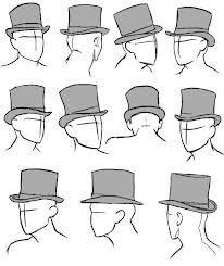 TOP HAT DRAWINGS - Google Search | Top hat drawing, Art reference