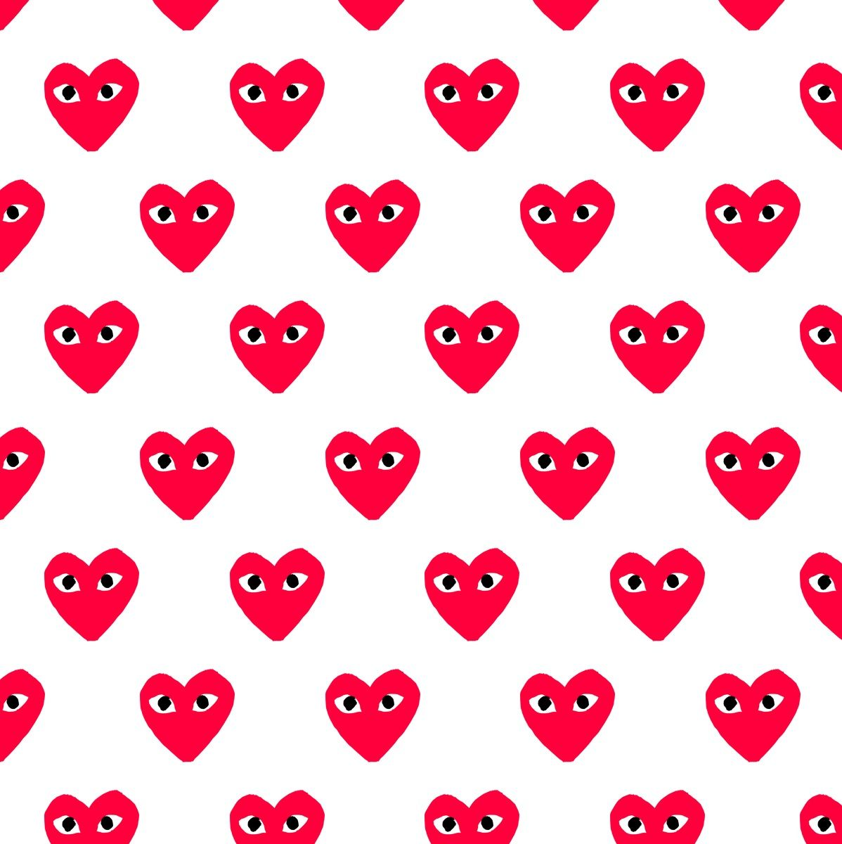 Comme Des Garcons Play Iphone Background Inspiration Minimalist Wallpaper Preppy Wallpaper