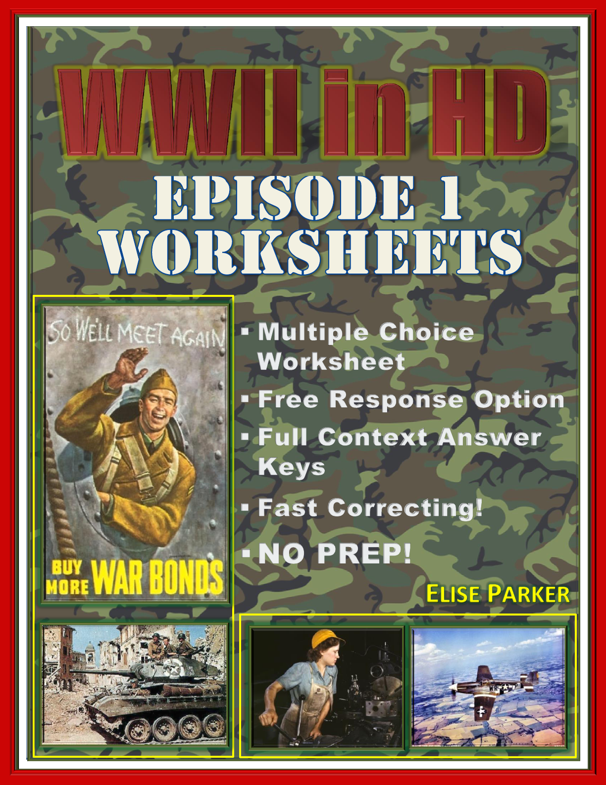 Wwii In Hd Worksheets Episode 1 Darkness Falls