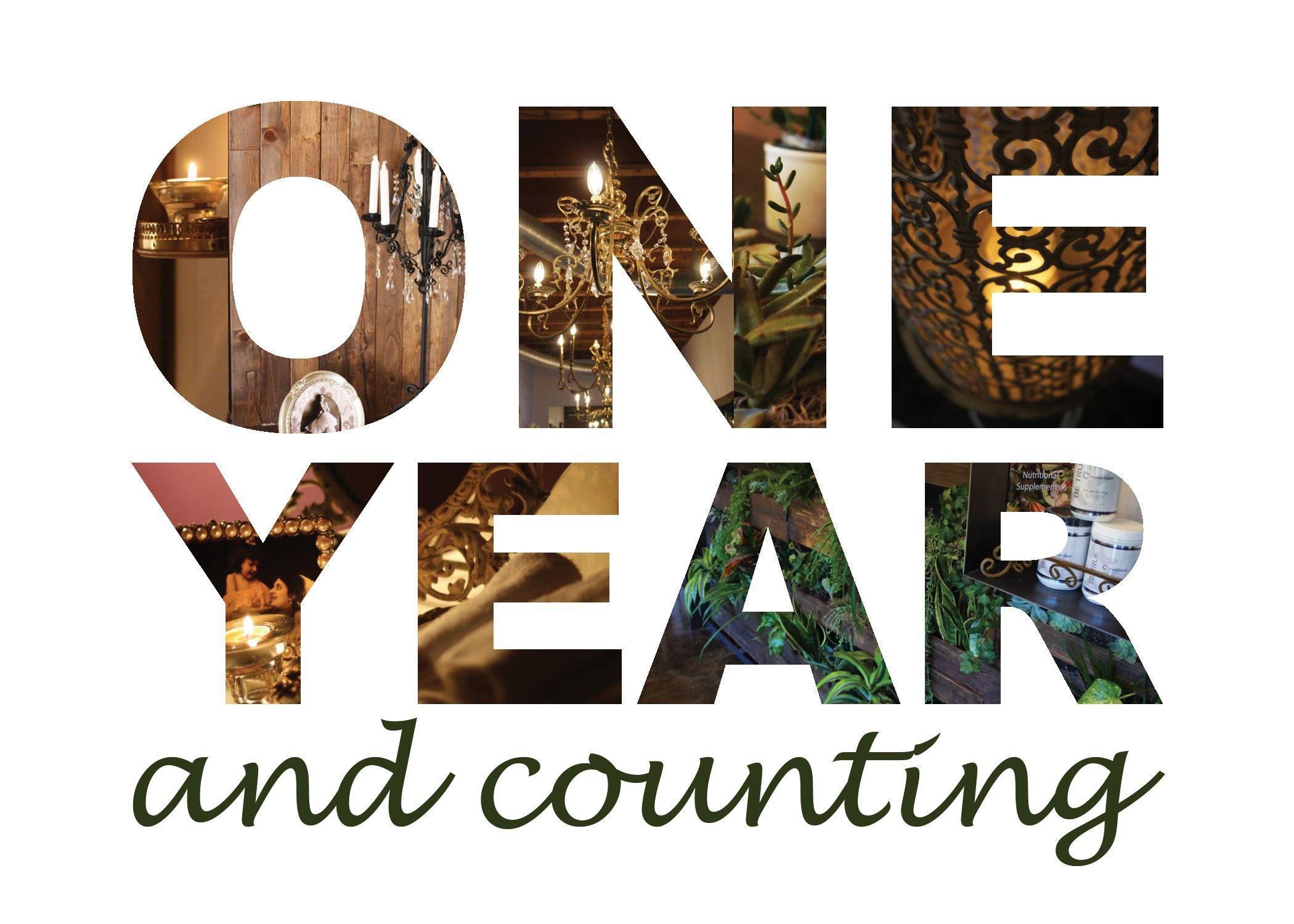 Happy 1st Anniversary WBW! Wee Bit Wordy One year