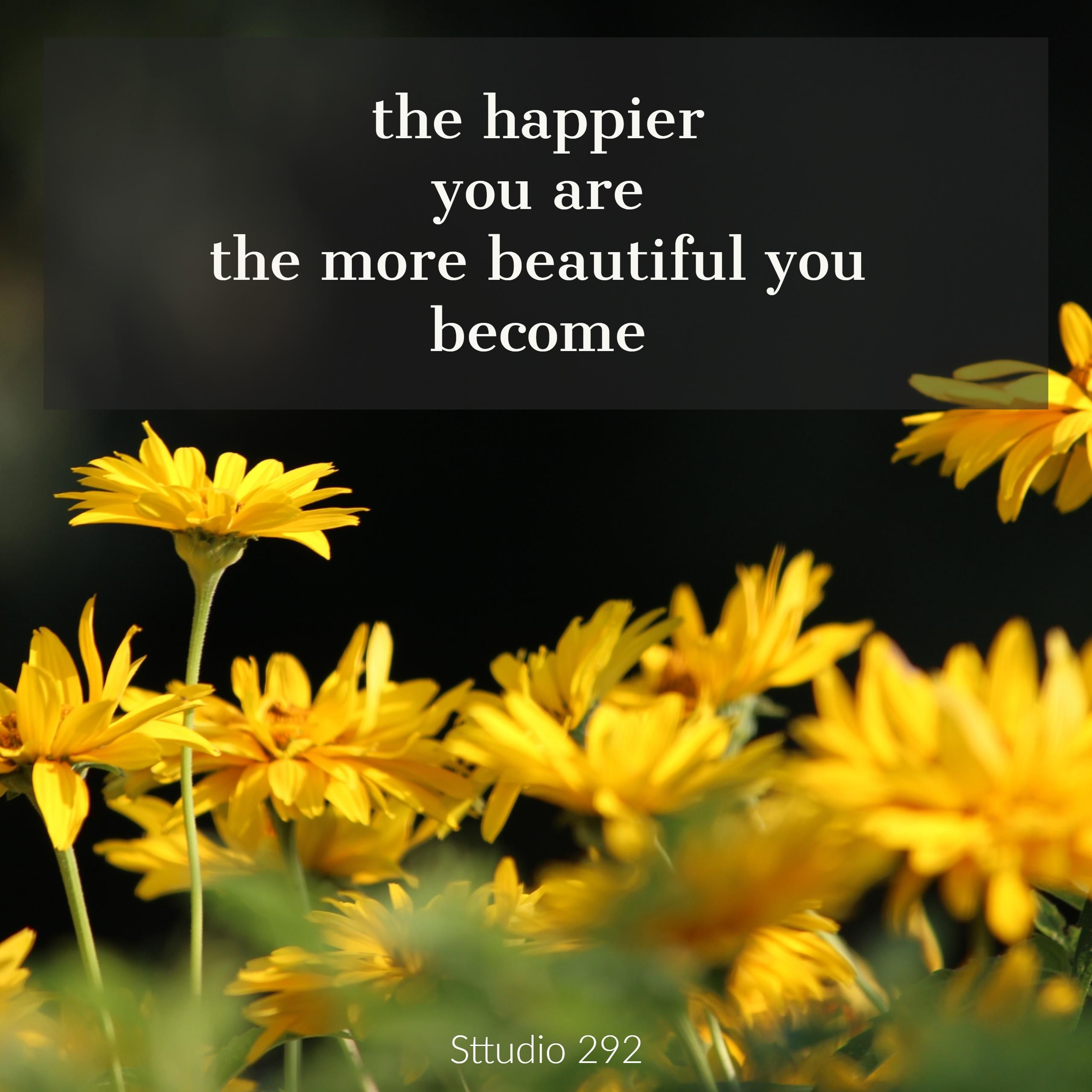 Beautiful Yellow Daisy Flowers Quotes On Happiness With Flower
