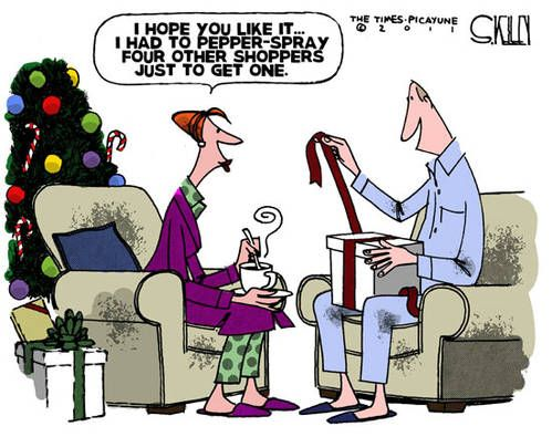 Political Cartoons Of The Week Black Friday Funny Christmas