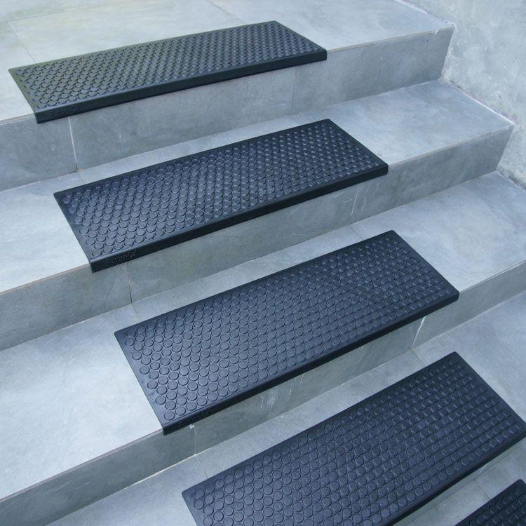 Best Coin Grip Rubber Step Mats 6 Pack Stair Treads 400 x 300