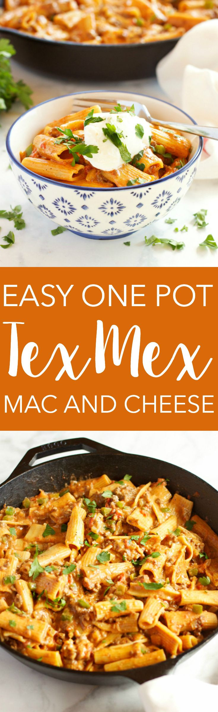 Easy One Pot Tex Mex Mac and Cheese | Recipe | 30 minute ...