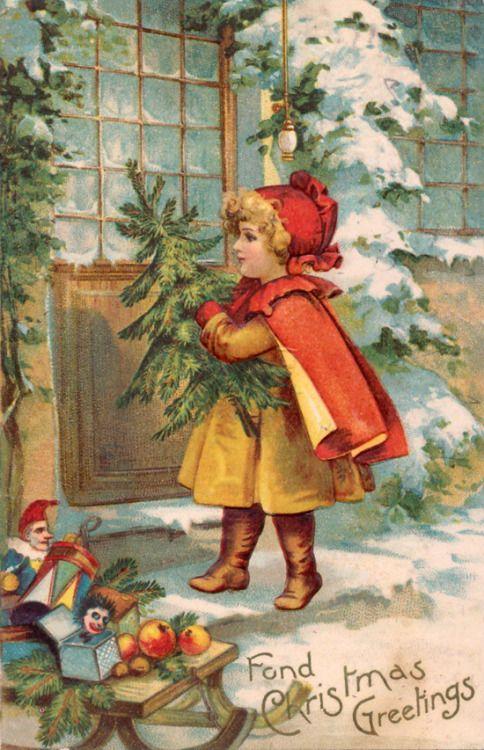 Vintage Holidays   Christmas Card   Pinterest
