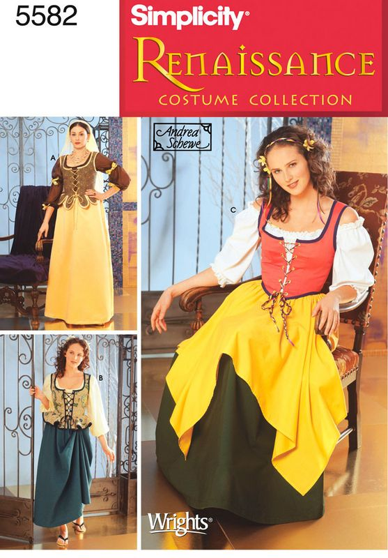 5f551c5a147 Costume   Uniform Patterns - Simplicity Misses Costumes Pattern ...