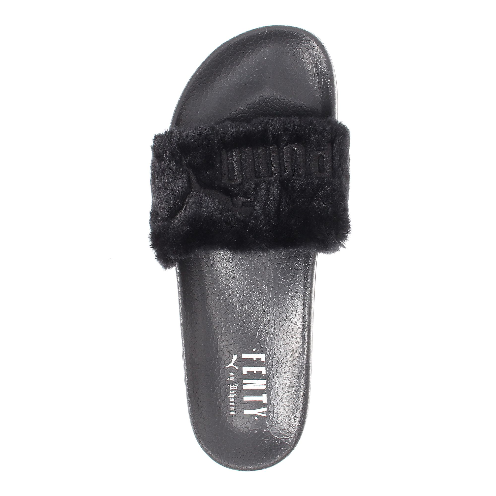 Where to Buy Rihanna's Puma Fur Slide - Racked