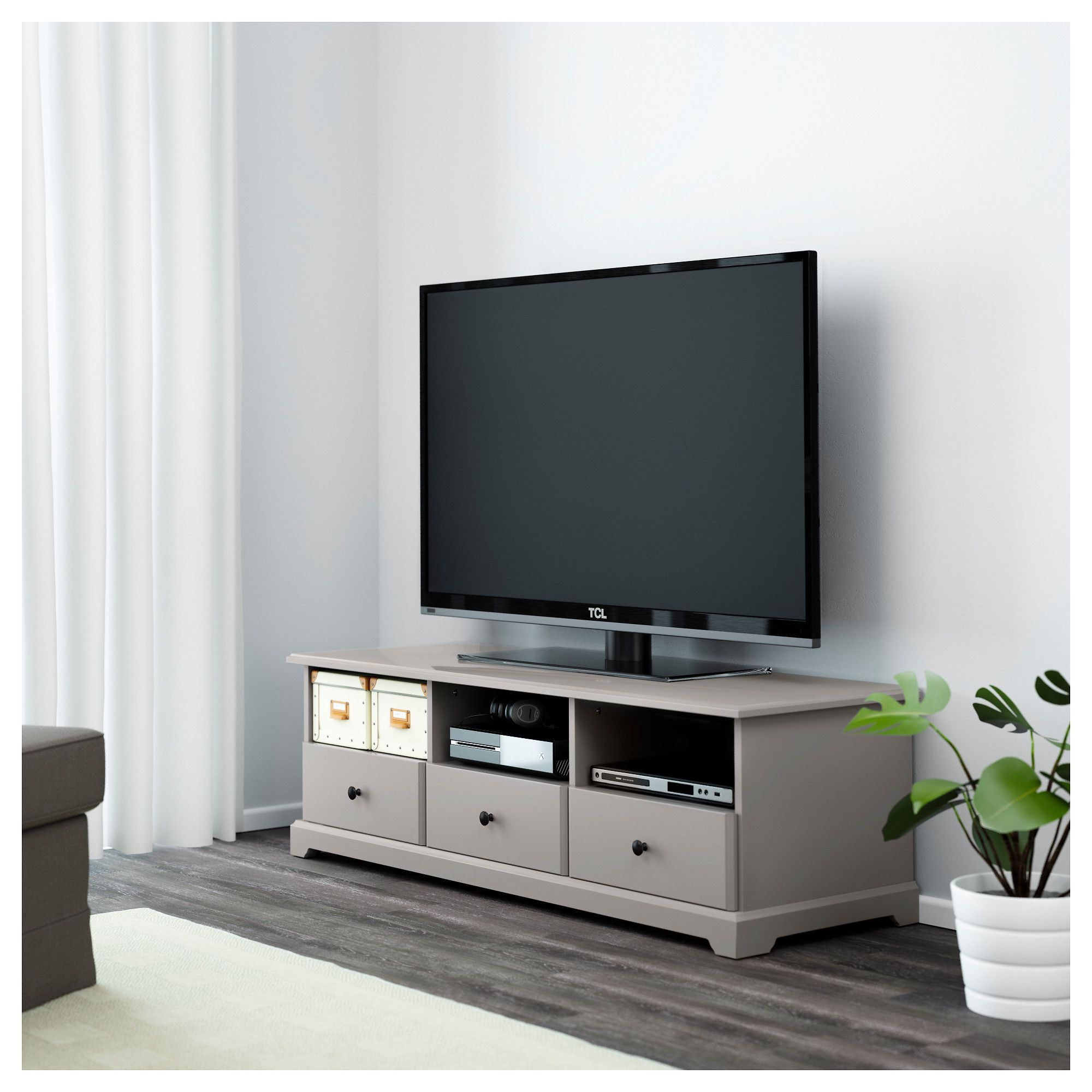 Tv Bench Liatorp Gray En 2019 Products Tv Bench