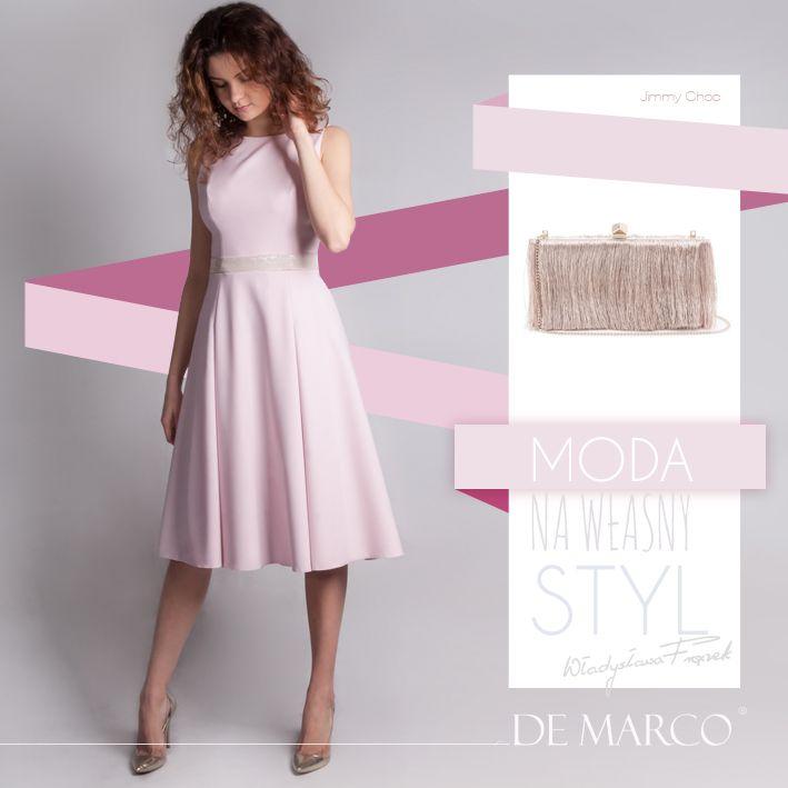 Eleganckie Sukienki Do Połowy łydki Dla Mamy Wesela 2019 Demarco