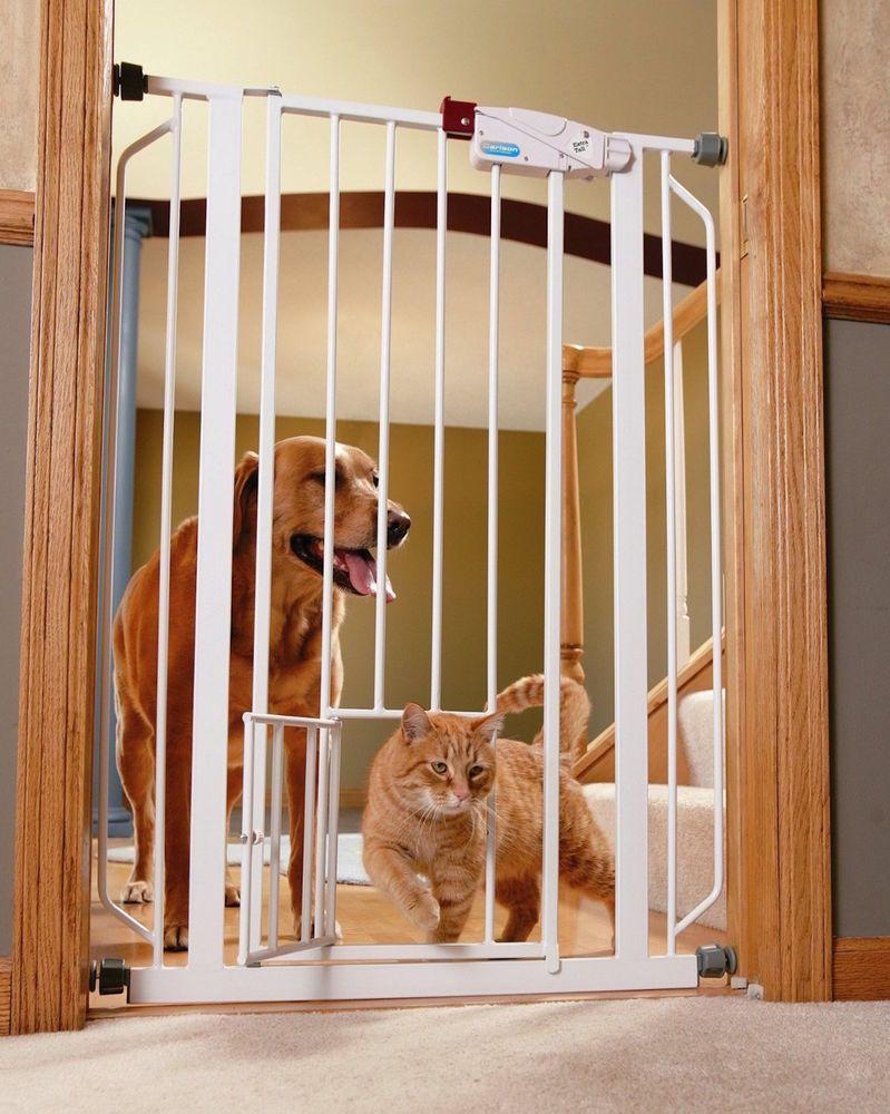 Ebay Walk Gate Pet Walk Thru Ease Cat Small Door Dog Fence Protect