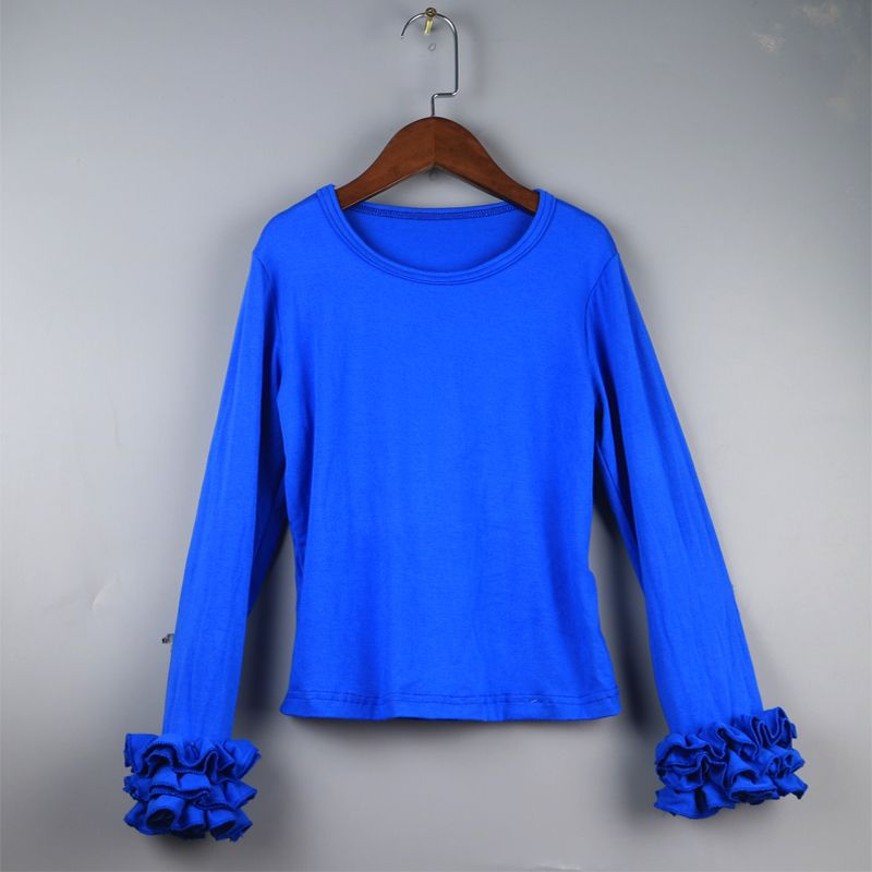 Mother and Daughter Matching Long Sleeves Floral Pullover Tops Girls O-Neck Casual Blouse