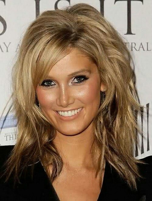 LOVE her hairrrr & especially makeup