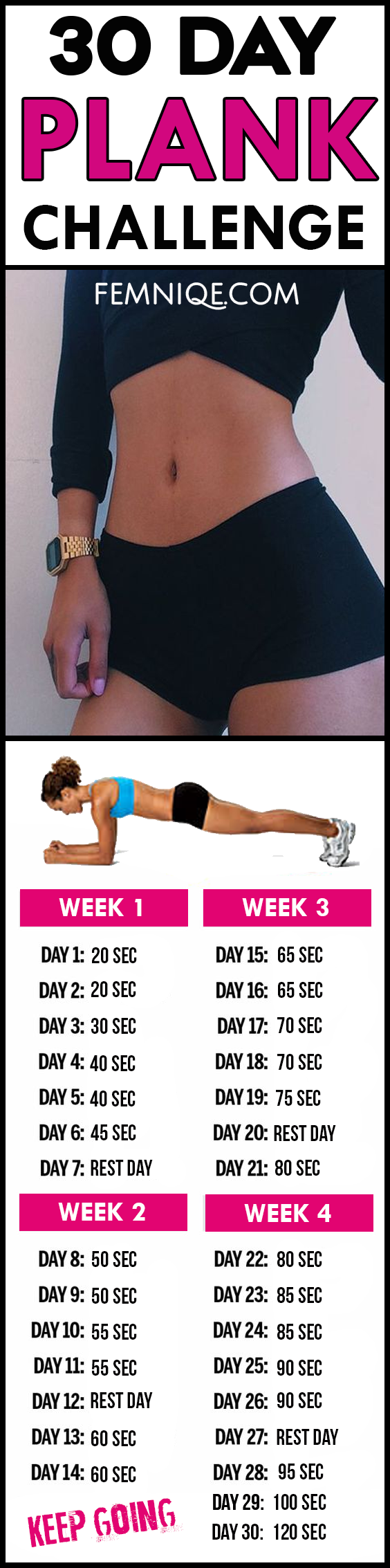Try This 8-Week Plank Challenge To Get Stronger From Head To Toe Try This 8-Week Plank Challenge To Get Stronger From Head To Toe new images