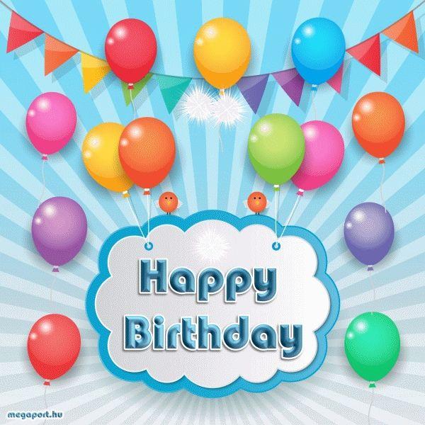Happy Birthday Gif Animated ECard
