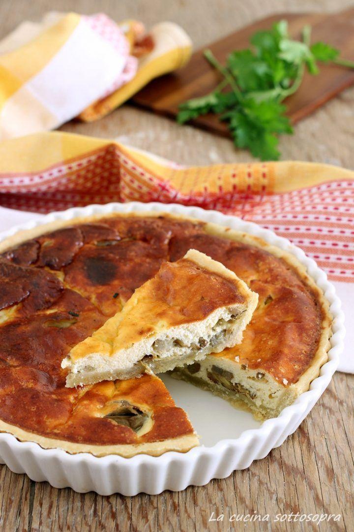 Photo of torta salata ricotta e carciofi con bimby e senza Bimby Le v