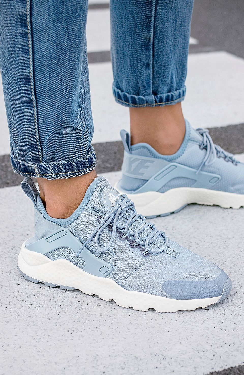 new product 8c218 15ea3 Nike Wmns Air Huarache Run Ultra Blue Grey (via Kicks-daily.com)