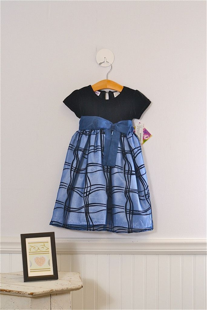 New with tags, great formal dress, size 4t Girls by Blueberi Boulevard. $35.99
