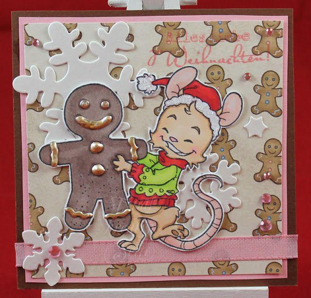Tinas kreative Seite - #9 von 24 Squares for Christmas