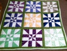 Disappearing Pinwheels From Missouri Star Quilt Company A