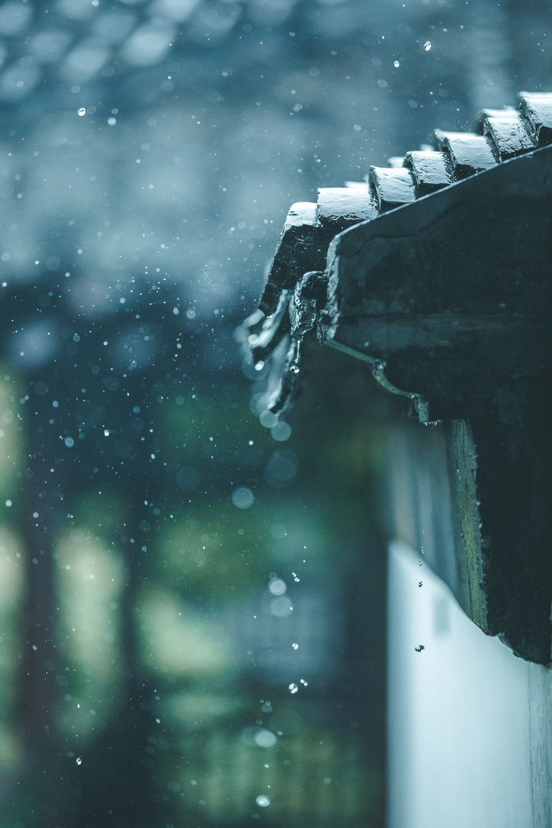 Nhiếp Ảnh Đô Thị, Chụp Ảnh Phong Cảnh, Ngày Mưa, Kiến Trúc Nhật