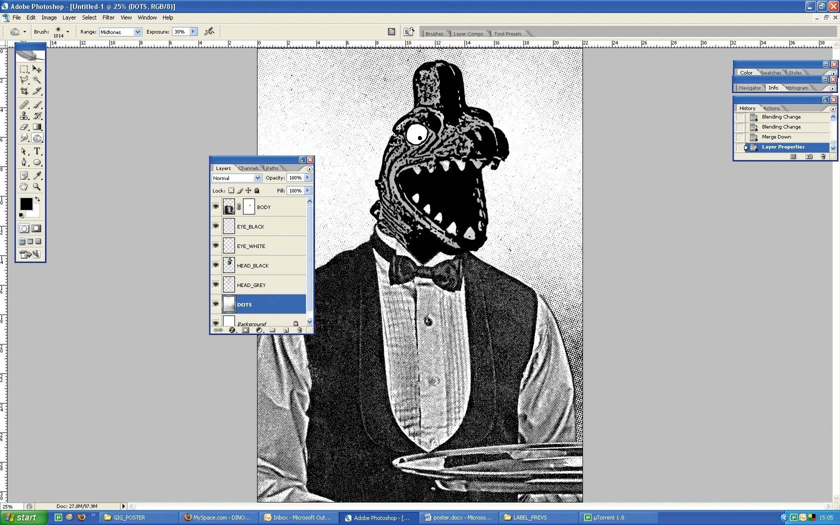 Photoshop tutorial: Create halftone and screenprint poster styles in Photoshop - Digital Arts