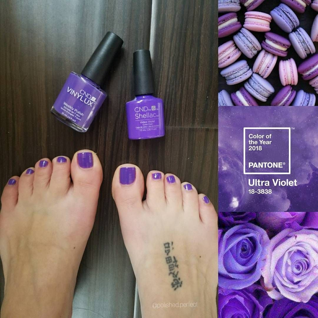 Polished nail salon pantone 2018 color of the year ultra for Polished nail salon