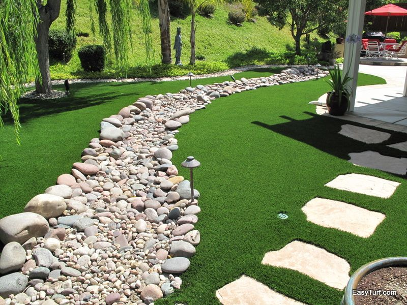 Backyard Pathways pathways featured in artificial lawn | artificial lawn landscape