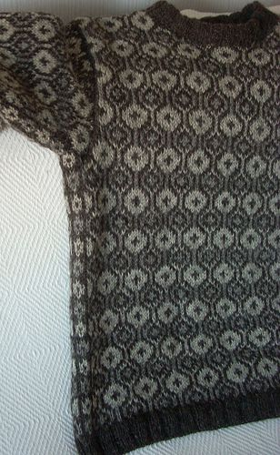 Asplund Knits Faroese Sweater Finished Sticka Och Virka