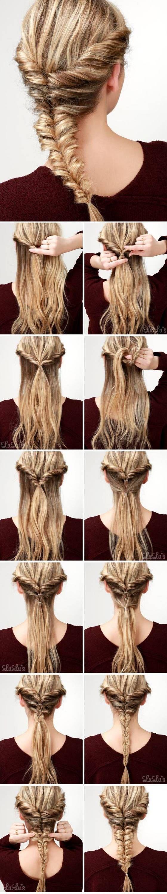 Hairstyle tutorial witj elegant braids – Tutorial peinado trenzado, trenzas esti…