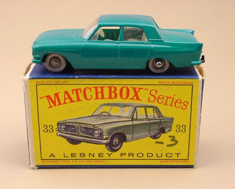 Rw33b Ford Zephyr 6 Mk Iii Ford Zephyr Matchbox Cars Matchbox