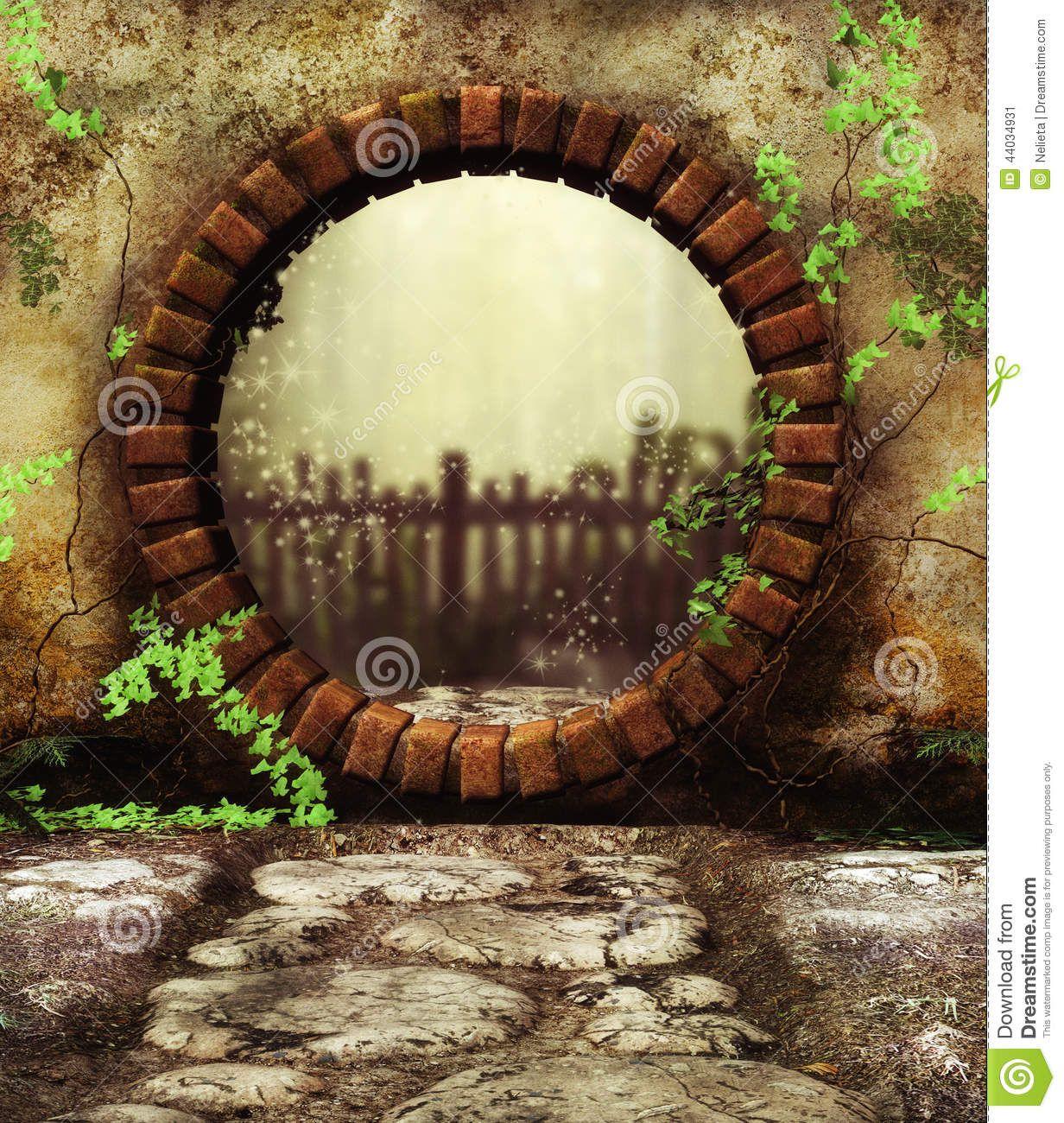 Loopholde to a secret garden | Garden: Through The Looking Glass ...