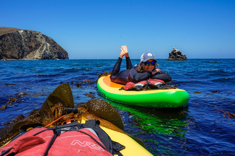 Meet Dani, Explorer-in-Residence. She rocks Costa Copra, OCEARCH  Trucker, & SOL Paddle Boards on her adventures.