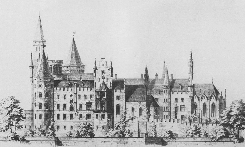 Burg Hohenzollern German Architecture Historical Architecture French Architecture