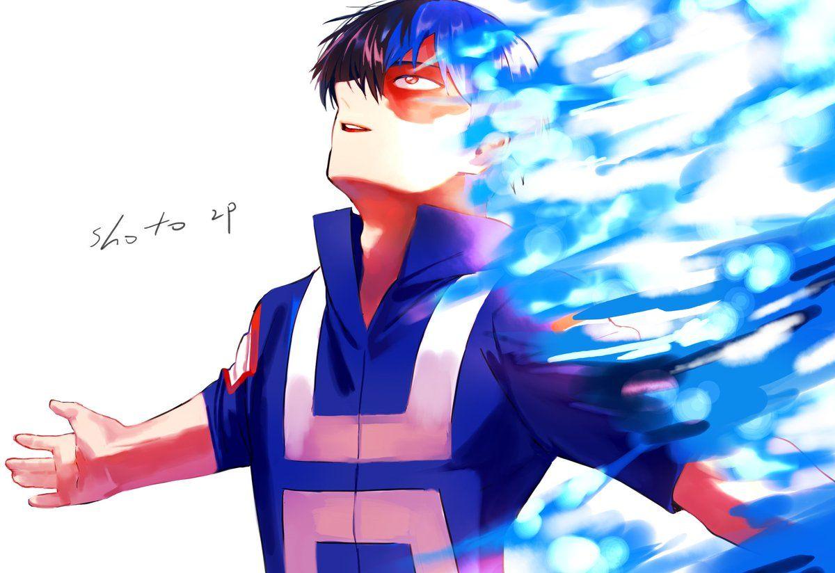 Todoroki Shouto (Villain) || AU Inverted || Boku no Hero Academia